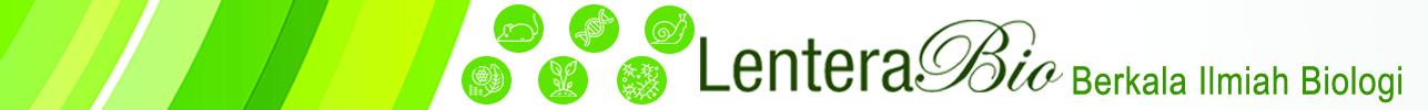 LenteraBio: Berkala Ilmiah Biologi
