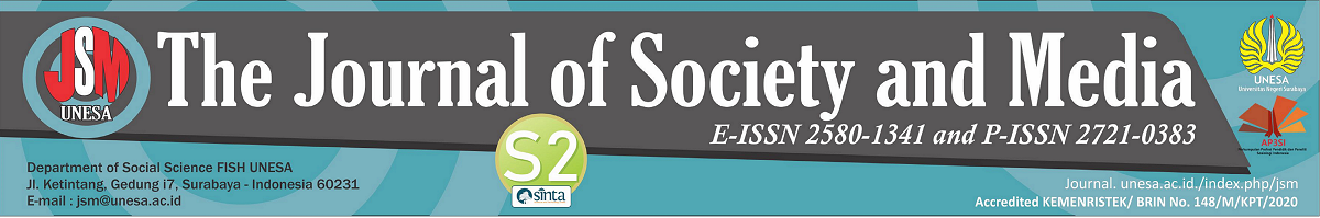 The Journal Of Society And Media